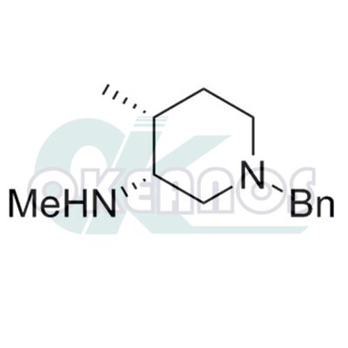 (3R,4R)-1-Benzyl-N-methyl-4-methylpiperidin-3-amine