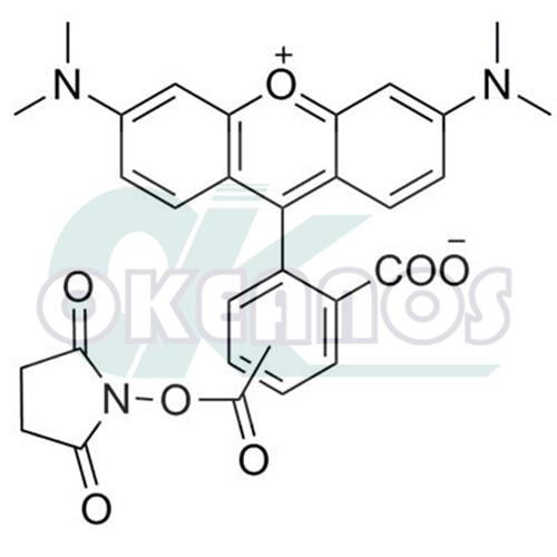 5(6)-Carboxytetramethylrhodamine succinimidyl ester;5(6)-TAMRA, SE