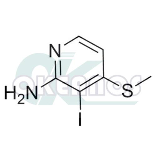 3-iodo-4- (methylthio) pyridin-2-amine