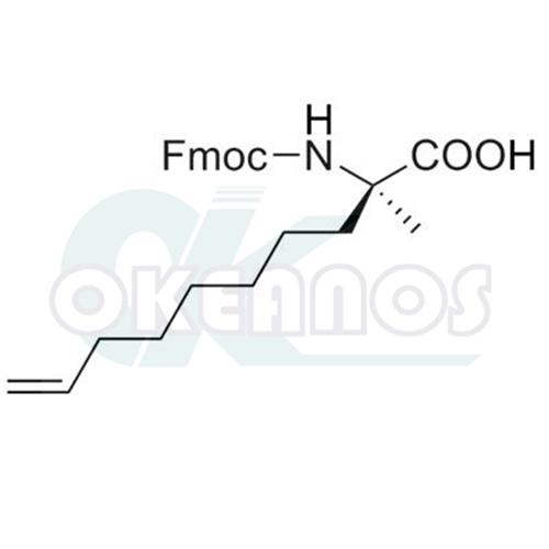 (R)-N-Fmoc-2-(7'-octenyl)alanine